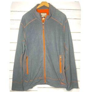 Double Diamond Zip Fleece Jacket Men's XL